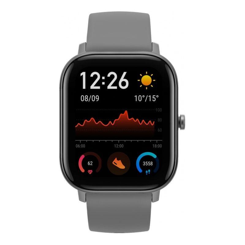 Смарт-часы Xiaomi Amazfit GTS серый с серым ремешком