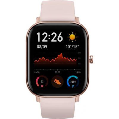 Смарт-часы Xiaomi Amazfit GTS розовый с розовым ремешком