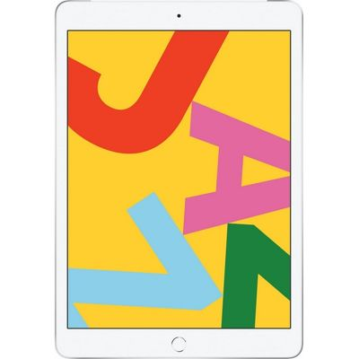 "10.2"" Планшет Apple iPad 2019 32 ГБ Wi-Fi + Cellular серебристый"