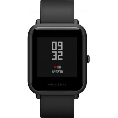 Смарт-часы Xiaomi Amazfit Bip Lite черный с черным ремешком