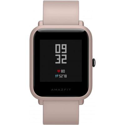 Смарт-часы Xiaomi Amazfit Bip Lite розовый с розовым ремешком
