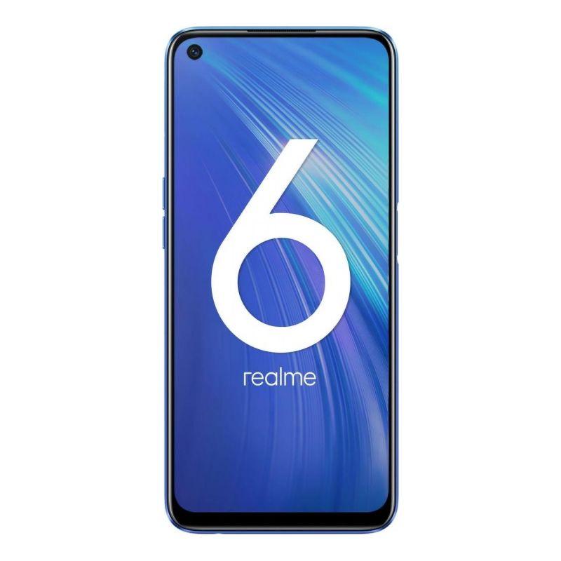 Смартфон realme 6 4/128 ГБ синий
