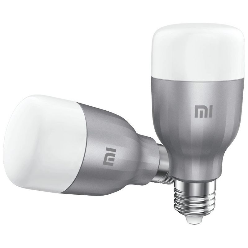 Умная лампа Xiaomi Mi Led Smart Bulb (White and Color) 2-Pack GPX4025GL