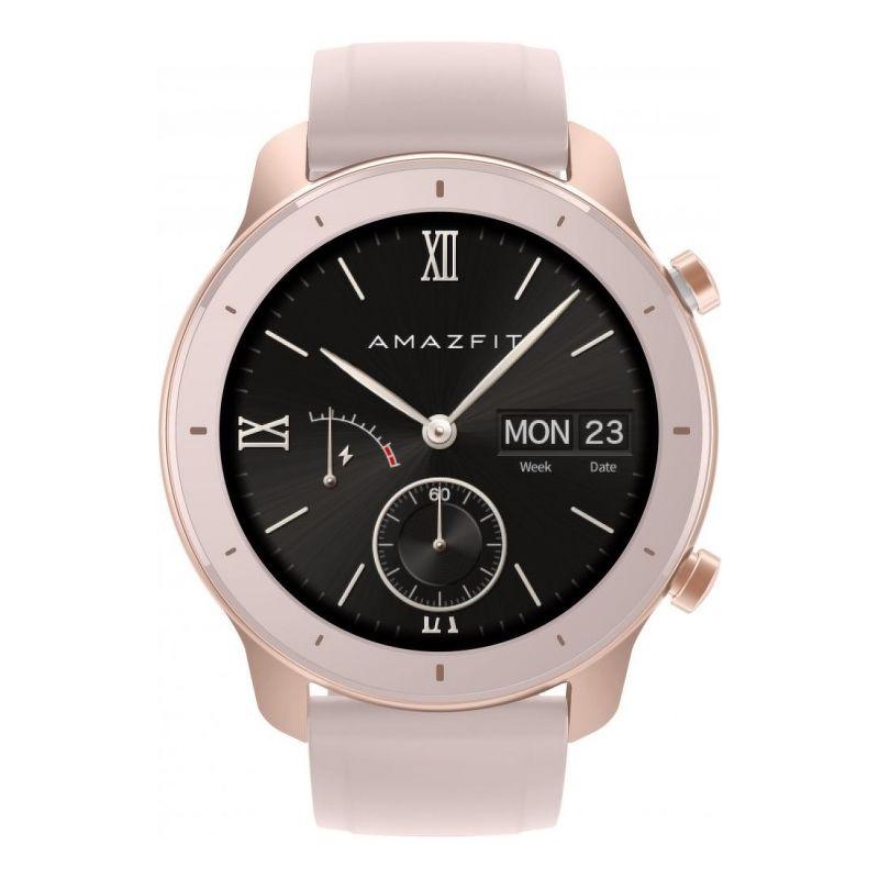 Смарт-часы Xiaomi Amazfit GTR 42mm розовый с розовым ремешком