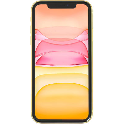 Смартфон Apple iPhone 11 128 ГБ желтый