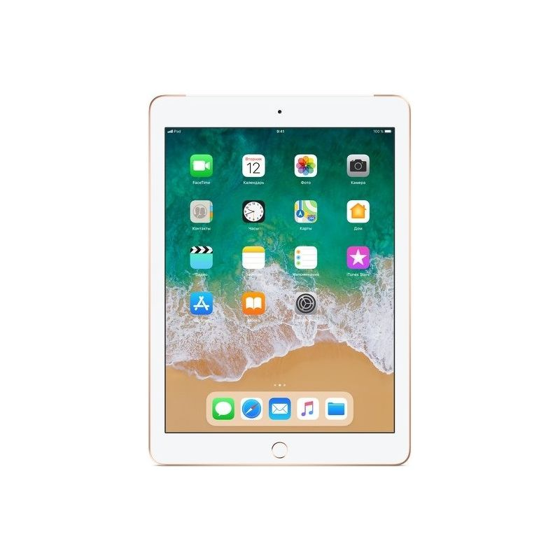 Планшет Apple iPad Wi-Fi + Cellular (4G) 2018 32 ГБ Gold