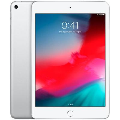 """7.9"""" Планшет Apple iPad mini 2019 256 ГБ Wi-Fi + Cellular серебристый"""