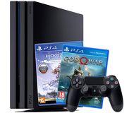 Игровая приставка Sony PlayStation 4 Pro 1 ТБ черный + Horizon Zero Dawn, God of War