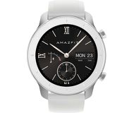 Смарт-часы Xiaomi Amazfit GTR 42mm белый с белым ремешком