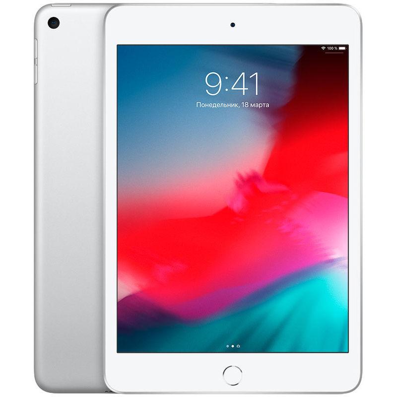 """7.9"""" Планшет Apple iPad mini 2019 64 ГБ Wi-Fi + Cellular серебристый"""