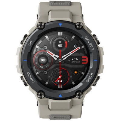 Смарт-часы Xiaomi Amazfit T-Rex Pro серый с серым ремешком