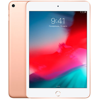 "7.9"" Планшет Apple iPad mini 2019 64 ГБ Wi-Fi + Cellular золотистый"