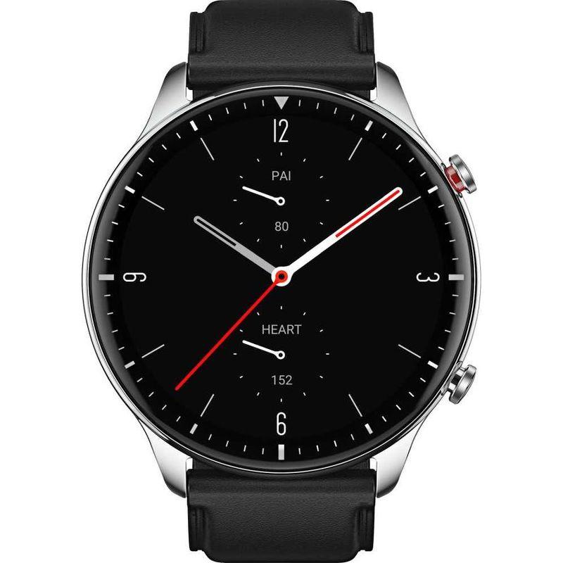 Смарт-часы Xiaomi Amazfit GTR 2 Classic серебристый с черным ремешком