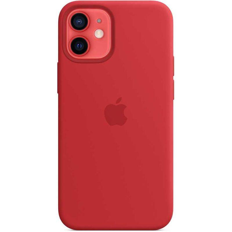 Чехол для смартфона Apple iPhone 12 Mini MagSafe Silicone Case красный