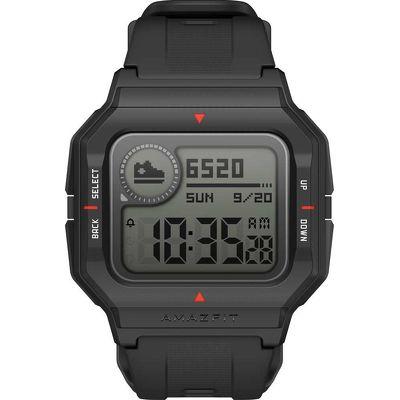 Смарт-часы Xiaomi Amazfit Neo черный с черным ремешком