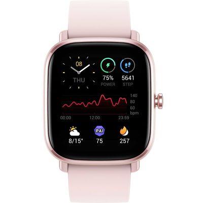 Смарт-часы Xiaomi Amazfit GTS 2 mini розовый с розовым ремешком