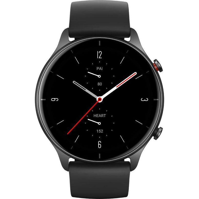 Смарт-часы Xiaomi Amazfit GTR 2e черный с черным ремешком
