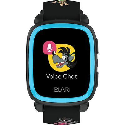 Детские часы ELARI KidPhone «Ну, Погоди!» черный (KP-NP)