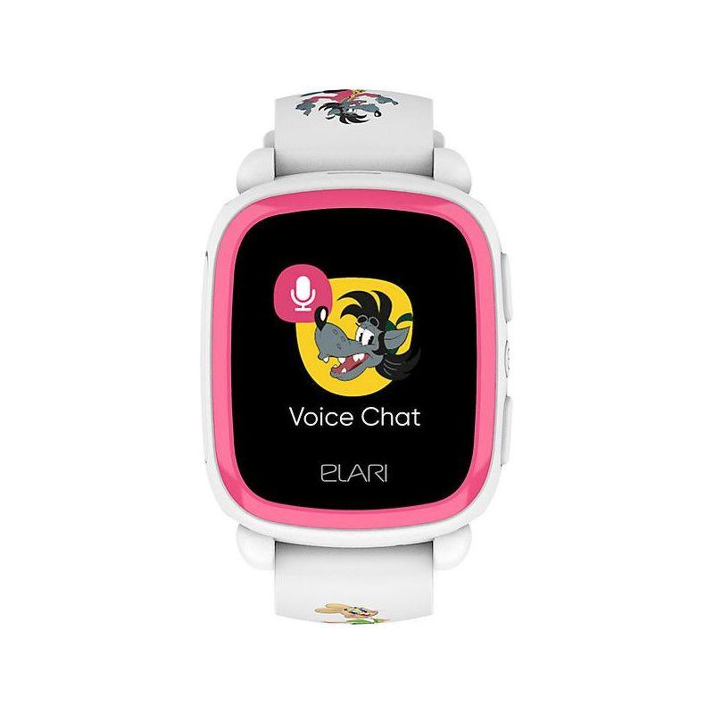 Детские часы ELARI KidPhone «Ну, Погоди!» белый (KP-NP)