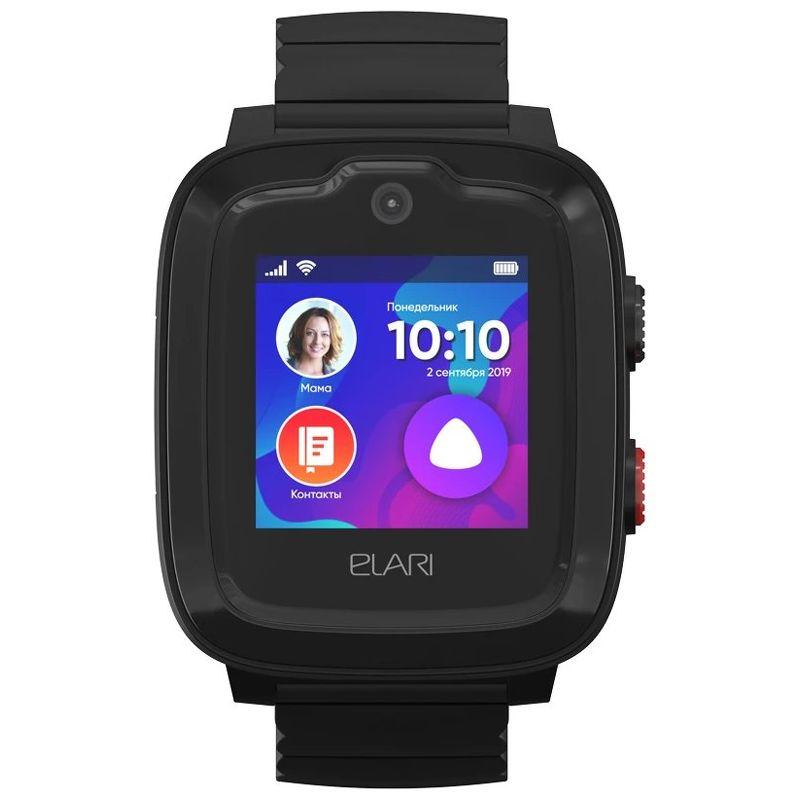 Детские часы ELARI KidPhone 4G черный (KP-4G)