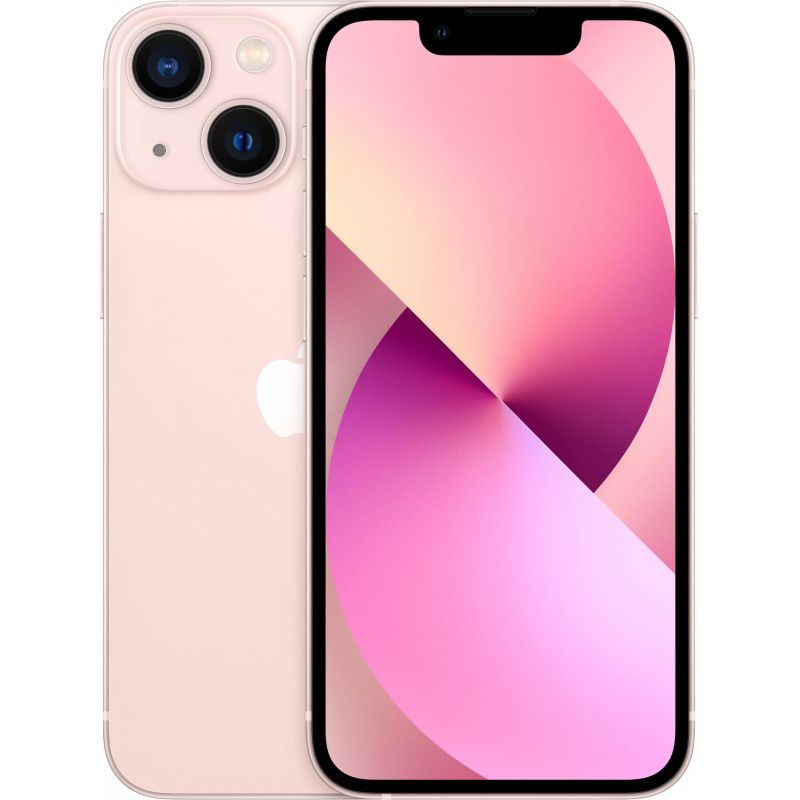 Смартфон Apple iPhone 13 mini 256 ГБ розовый