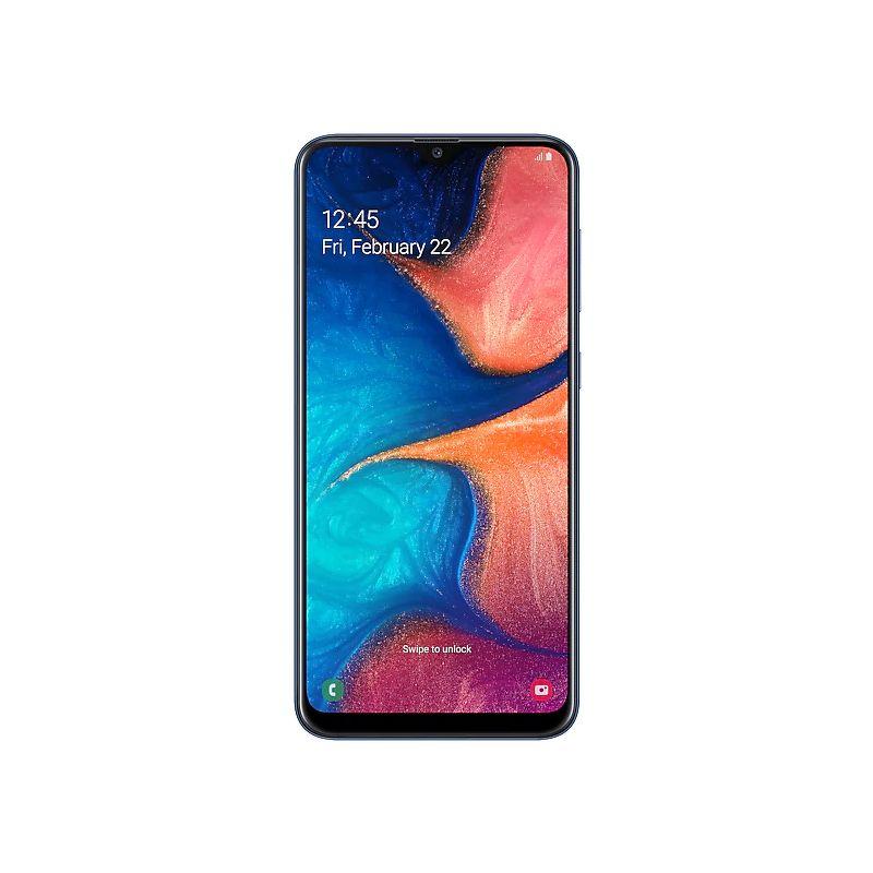 Смартфон Samsung Galaxy A20 3/32 ГБ синий