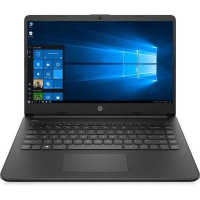 """14"""" Ноутбук HP 14s-fq0026ur (22M93EA) черный"""