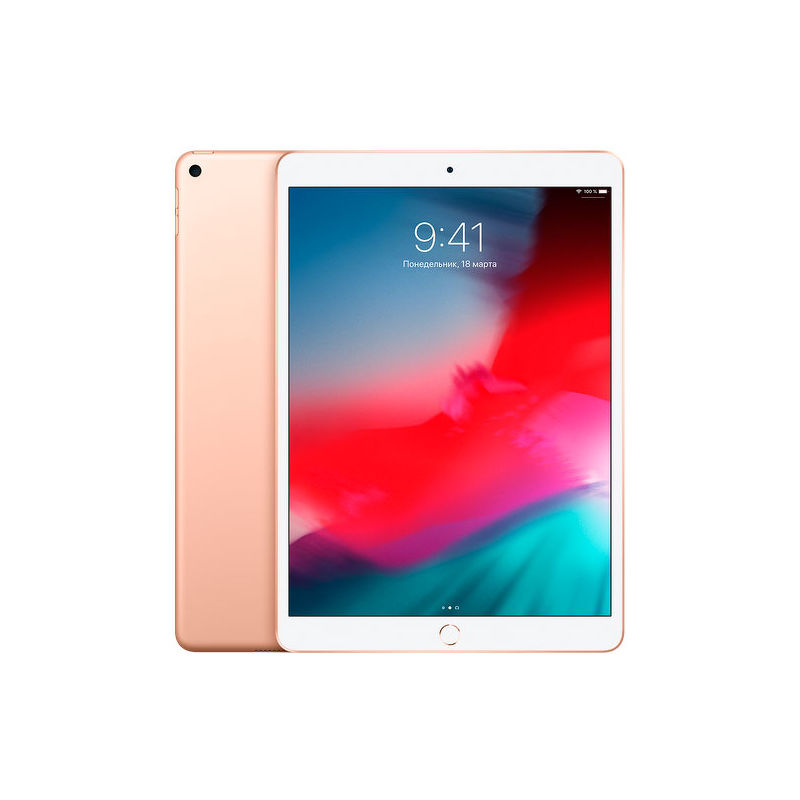 "10.5"" Планшет Apple iPad Air 2019 256 ГБ Wi-Fi + Cellular золотистый"