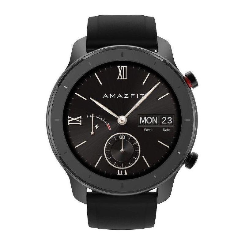 Смарт-часы Xiaomi Amazfit GTR 42mm черный с черным ремешком