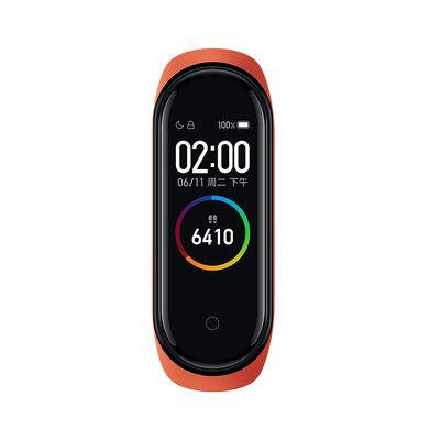 Фитнес-браслет Xiaomi Mi Band 4 оранжевый