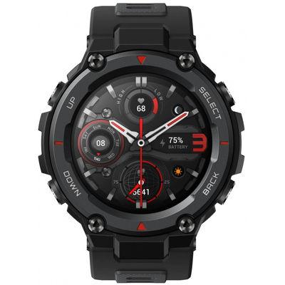 Смарт-часы Xiaomi Amazfit T-Rex Pro черный с черным ремешком