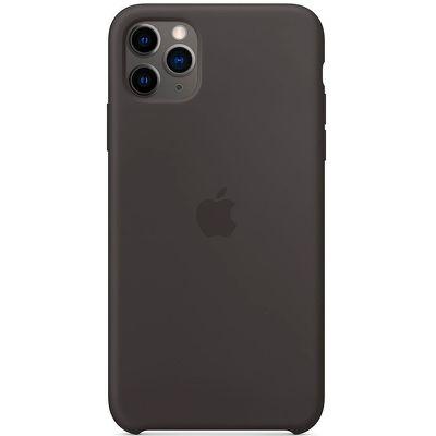 Чехол для смартфона Apple iPhone 11 Pro Max Silicone Case черный