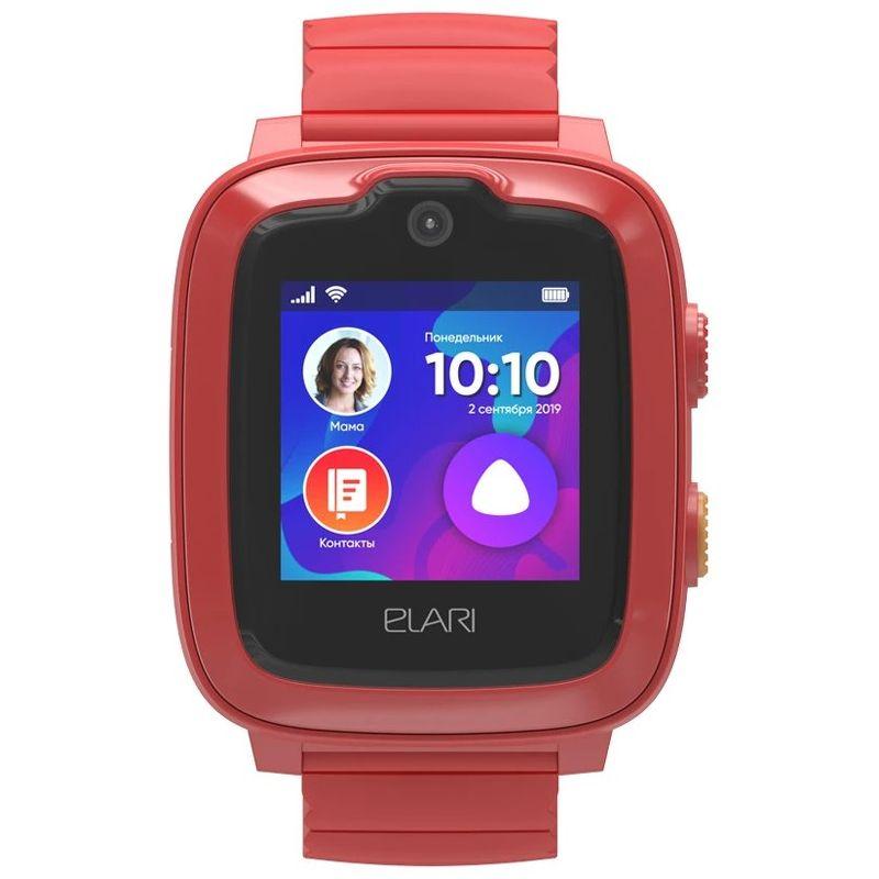 Детские часы ELARI KidPhone 4G красный (KP-4G)