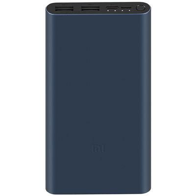 Портативный аккумулятор Xiaomi Mi Power Bank 3 10000 mAh черный (PLM13ZM)