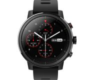 Смарт-часы Xiaomi Amazfit Stratos 2 черный с черным ремешком