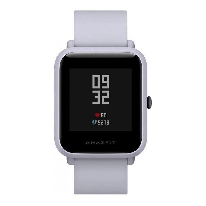 Смарт-часы Xiaomi Amazfit Bip S белый с белым ремешком