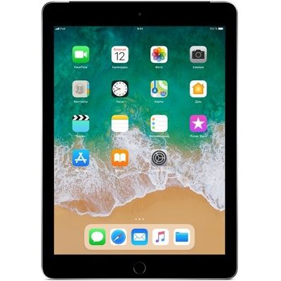 "9.7"" Планшет Apple iPad 2018 128 ГБ Wi-Fi серый"