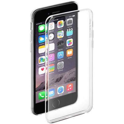 Чехол Gel Case и защитная пленка для Apple iPhone 6/6S Crystal