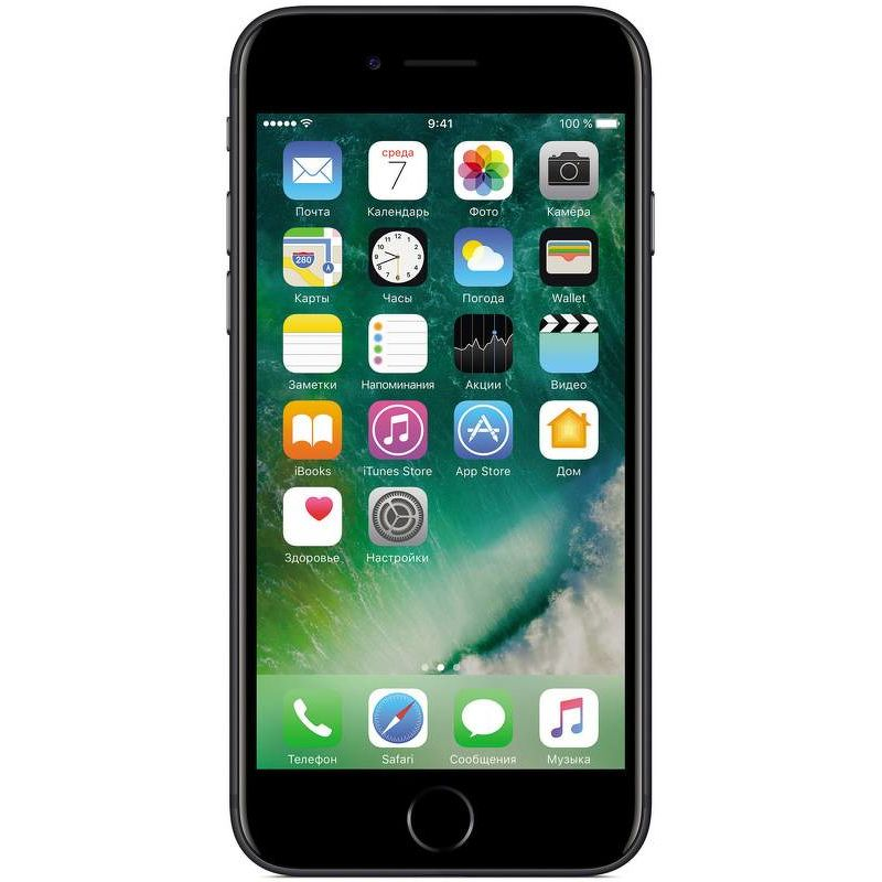 Смартфон Apple iPhone 7 32 ГБ черный