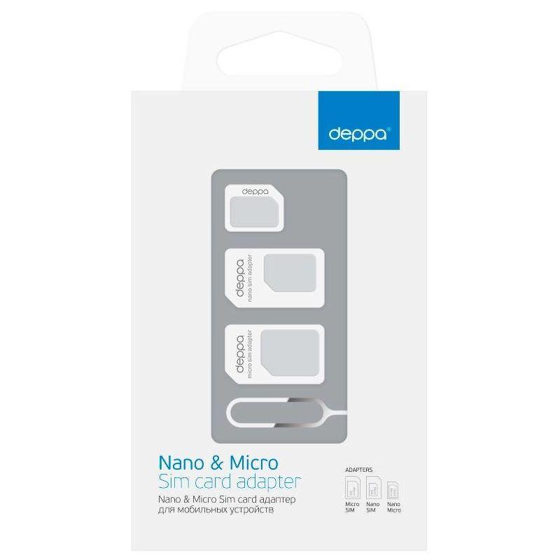 Nano & Micro Sim card адаптер