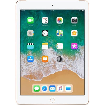 "9.7"" Планшет Apple iPad 2018 128 ГБ Wi-Fi золотистый"