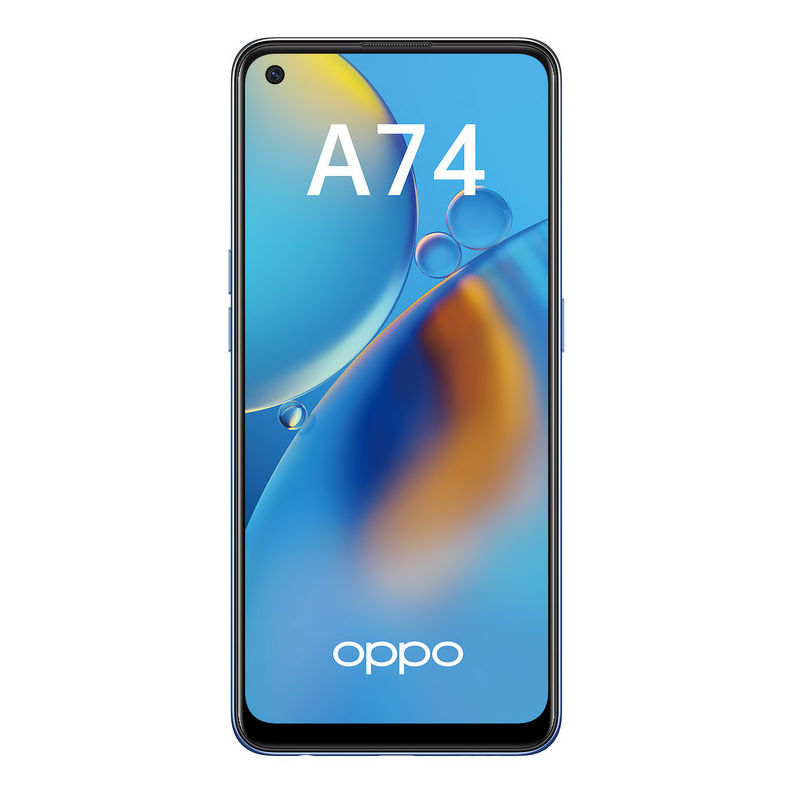 Смартфон Oppo A74 4/128 ГБ синий