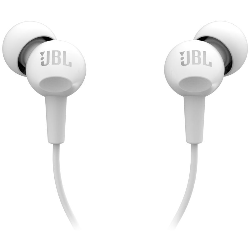 Проводные наушники JBL C100SI белый