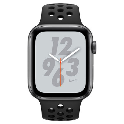 Apple Watch Series 4, 40mm, Space Gray Aluminum Case Anthracite/Black Nike Sport Band