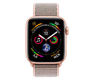 Apple Watch Series 4, 40mm, Gold Aluminum Case Pink Sand Sport Loop