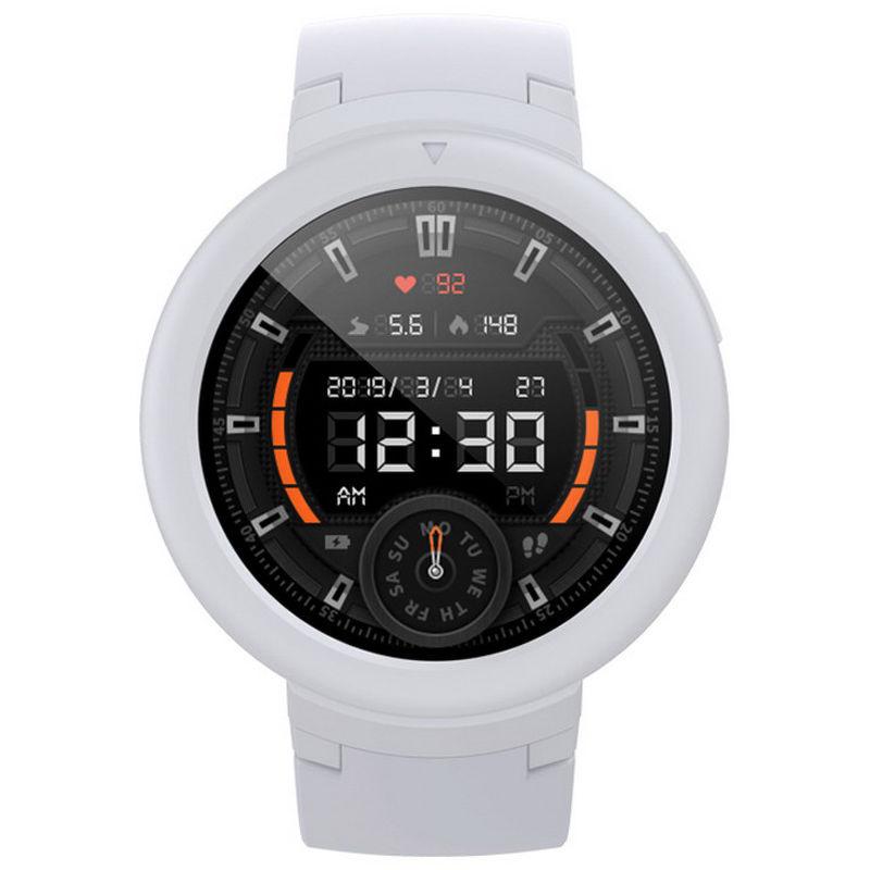 Смарт-часы Xiaomi Amazfit Verge Lite белый с белым ремешком