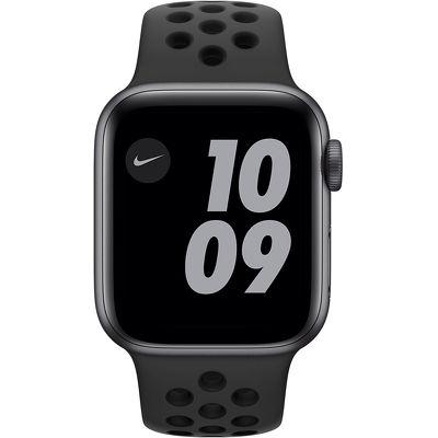 Смарт-часы Apple Watch Series 6 Nike 40mm серый с черным ремешком