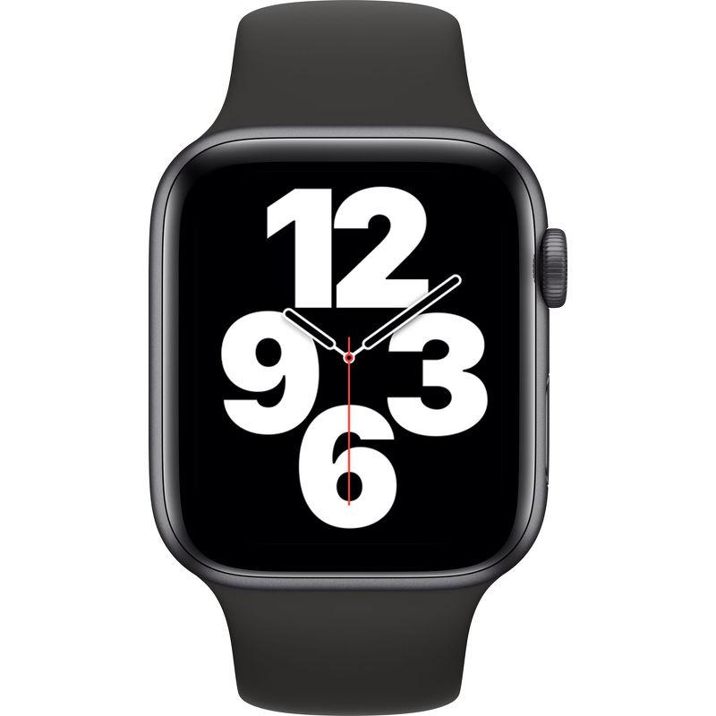 Смарт-часы Apple Watch SE 44mm серый с черным ремешком