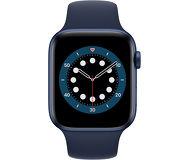 Смарт-часы Apple Watch Series 6 44mm синий с синим ремешком