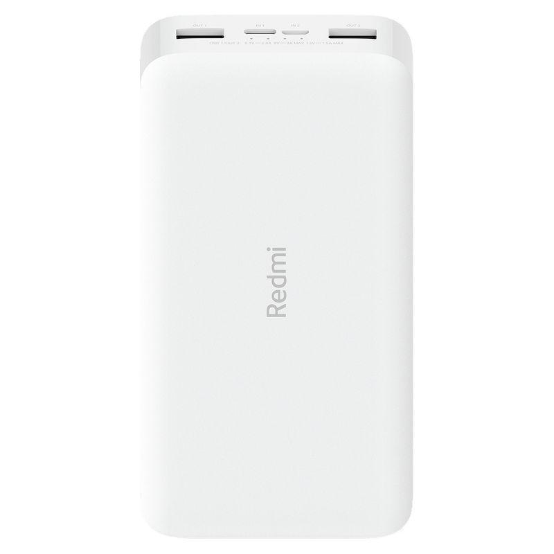 Портативный аккумулятор Xiaomi Redmi 18W Fast Charge Power Bank 20000 mAh белый (VXN4285GL)